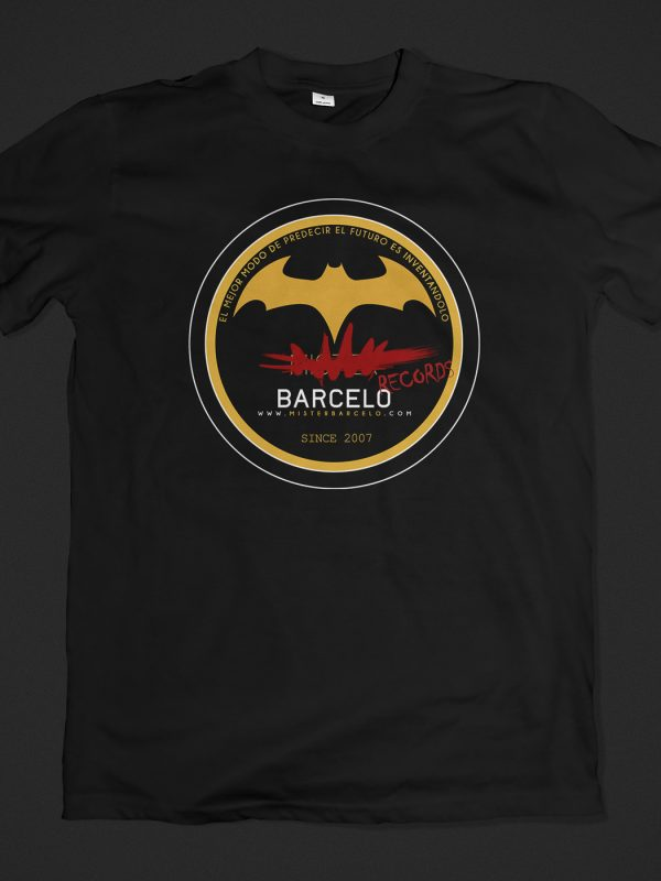 Camiseta Barcelo Records (negra)