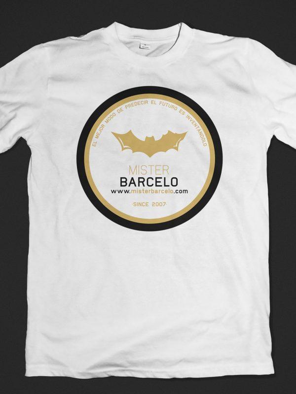 Camiseta Mister Barcelo Blanca