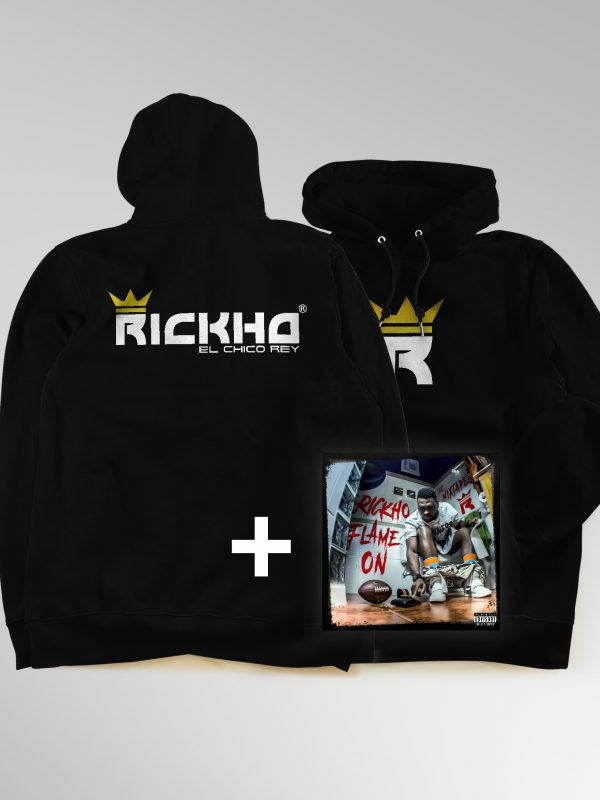 Pack Rickho  Flame On  Formato físico + Sudadera