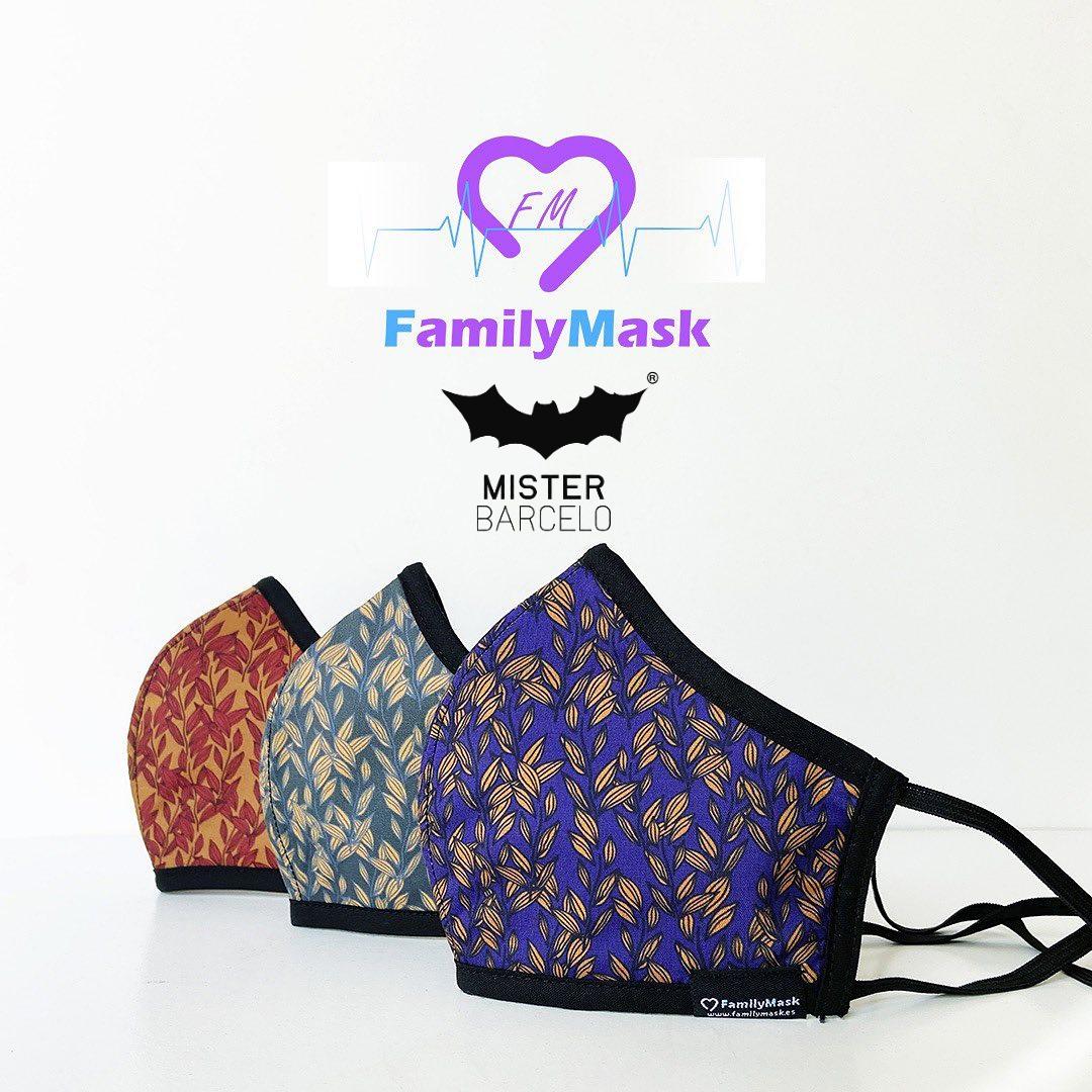 Mister Barcelo X Family Mask